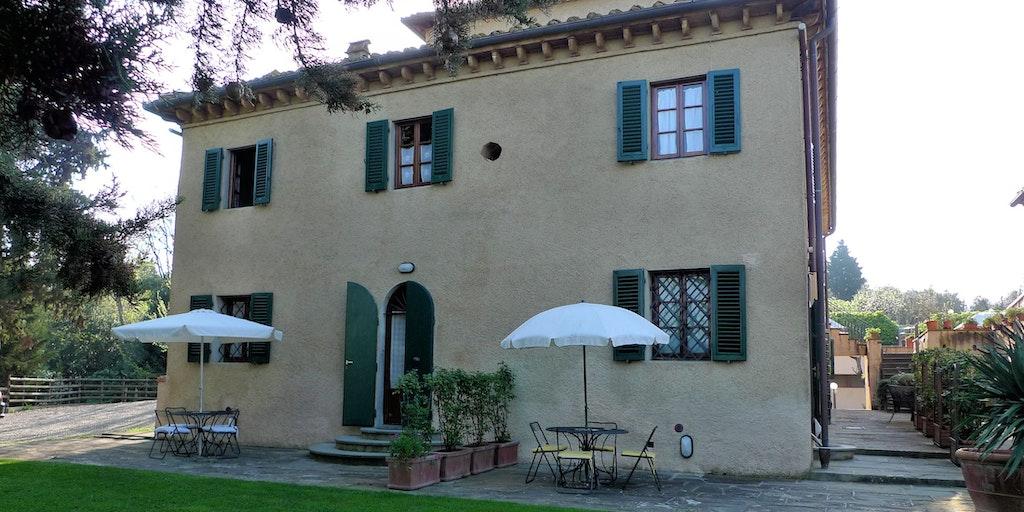 Terrasse der Wohnungen Uva und Focolare