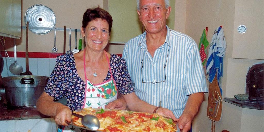 Værtsparret på Masseria Santa Lucia dybt inde i Molises frodige hjerte