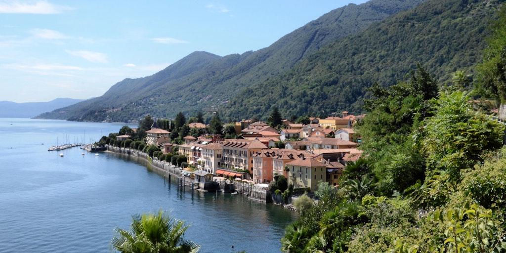Cannero Riviera sur le Lac Majeur