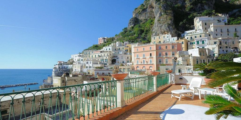 Apartment Atrani Amalfi Coast - Terrazza Vista Mare