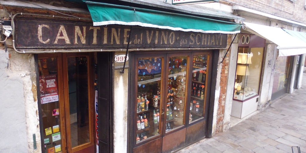 One of Venice's picturesque old shops