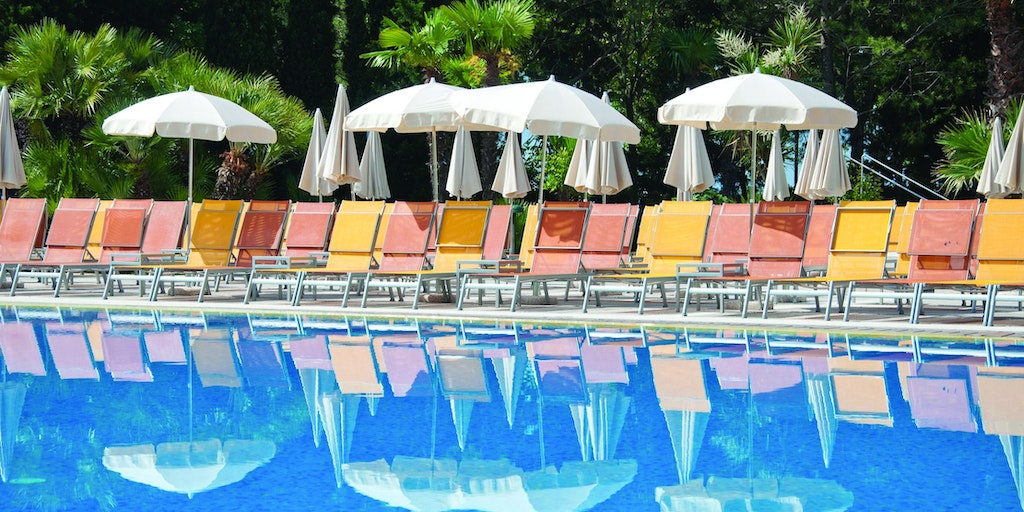 Pool at Parc Hotel Gritti