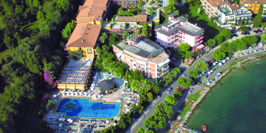 Parc Hotel Gritti from the air