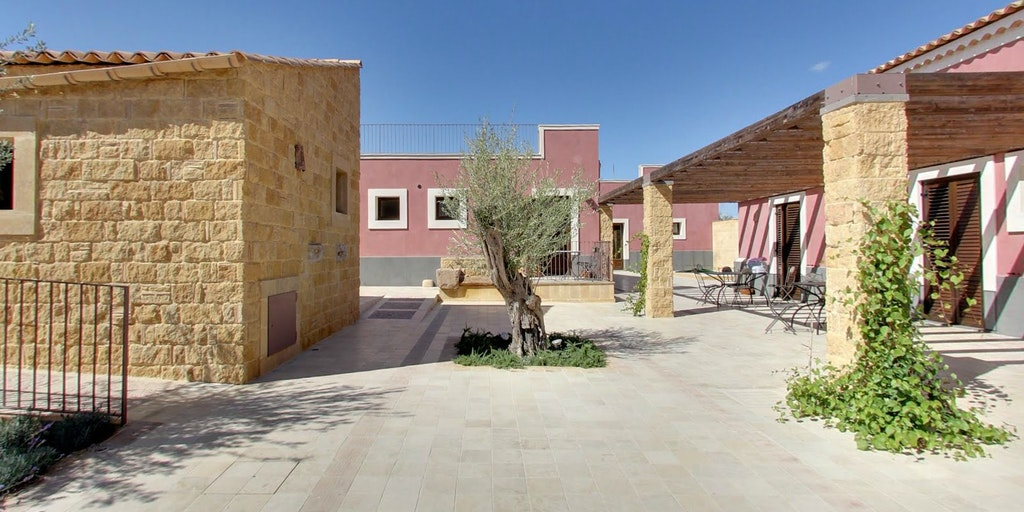 La nouvelle annexe <em>baglio</em> et ses appartements