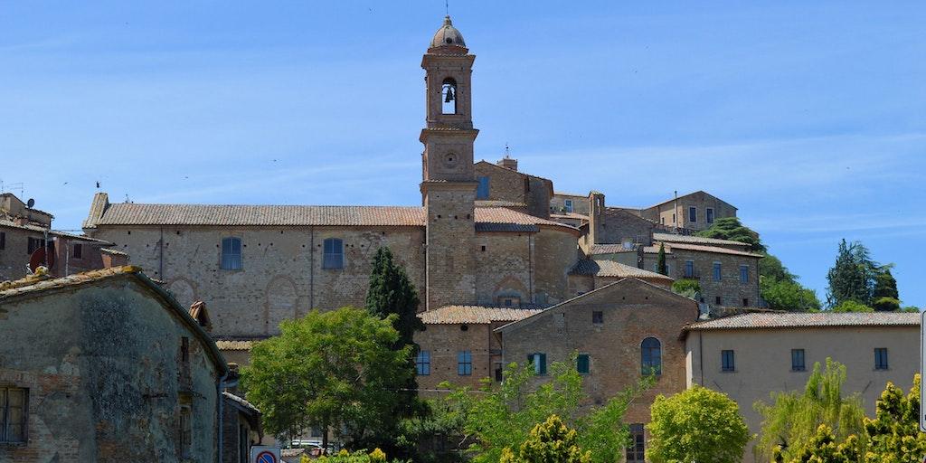 Franciskanerklostret i Montepulciano