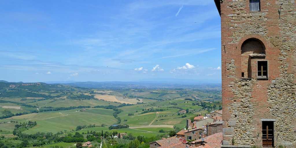 Views from Montepulciano