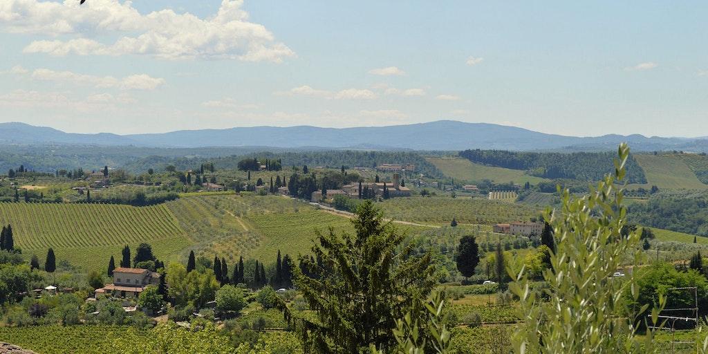 Tuscany's most beautiful scenery