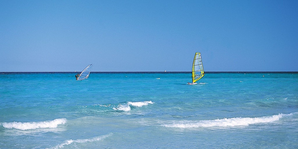 A true paradise for windsurfers