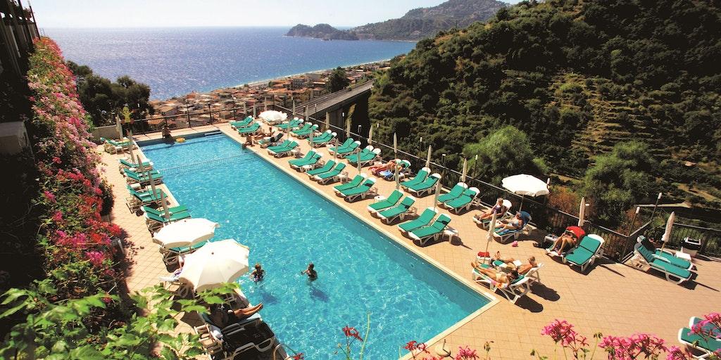 Holiday Letojanni Taormina - Hotel Antares Olimpo Terrazze
