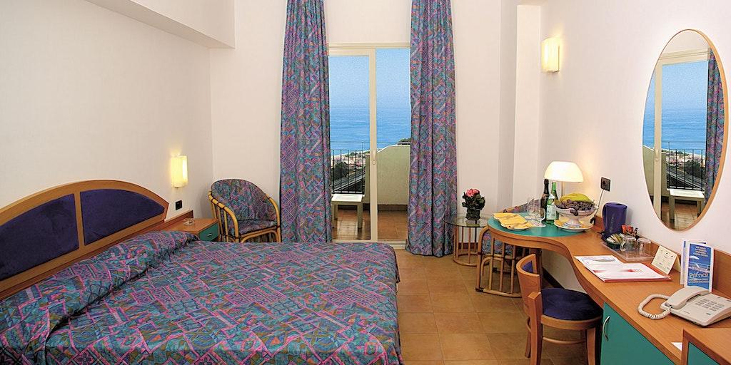 Une chambre de l'Hotel Antares