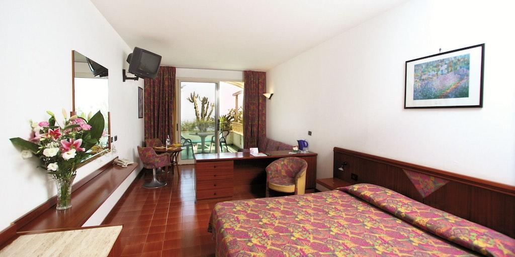 Une chambre de l'Hotel Le Terrazze