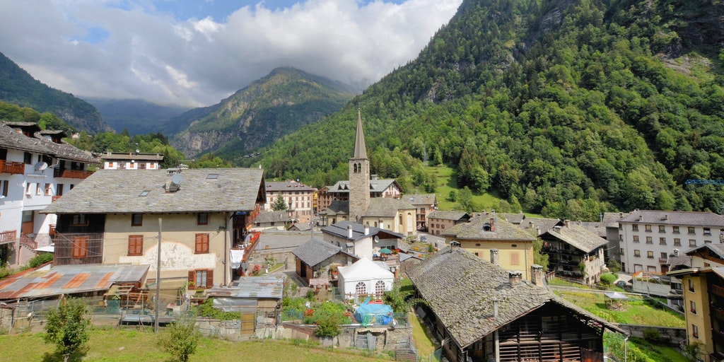 Alagna in summer
