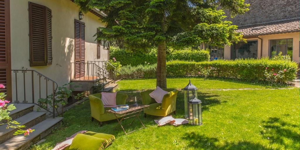 Garden at Apartment Glicine