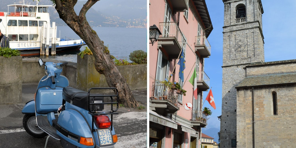 Das Stadtleben in Bellagio