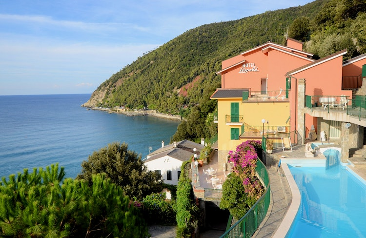 Holiday in Moneglia - Liguria Italy - Hotel Leopold