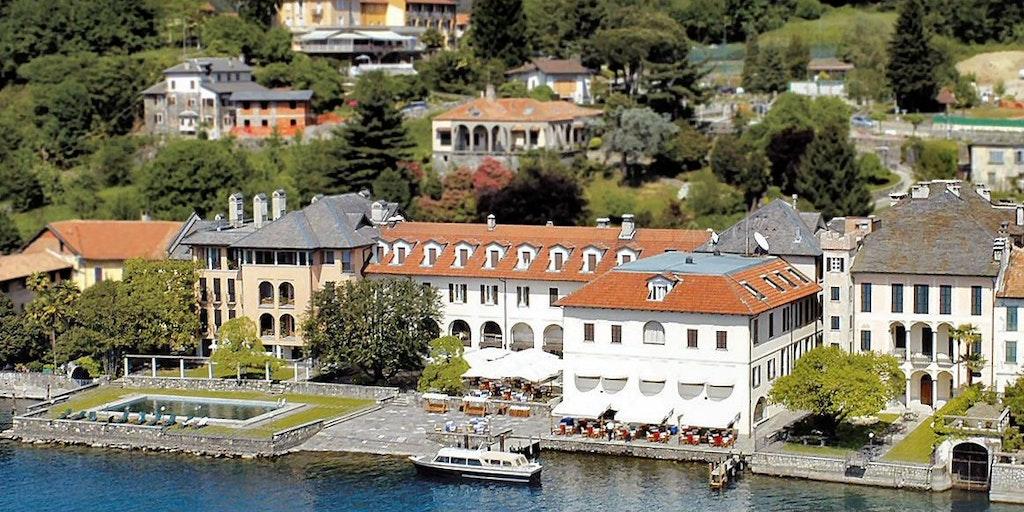 Alle Gebäude des Hotels San Rocco sind Richtung See ausgelegen