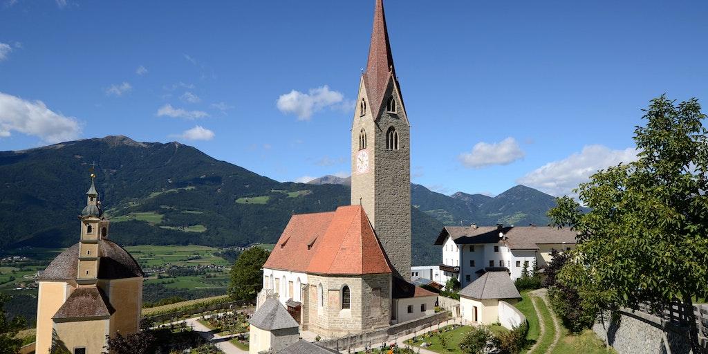 Landsbyen Sant'Andrea tæt på Bressanone